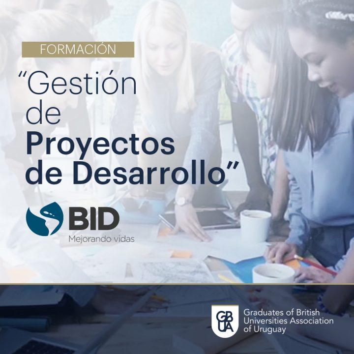 """Curso gratuito del BID – """"Gestión de Proyectos de Desarrollo"""""""