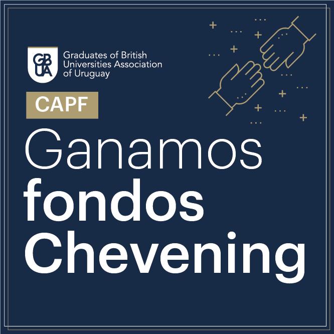 ¡Ganamos fondos Chevening!