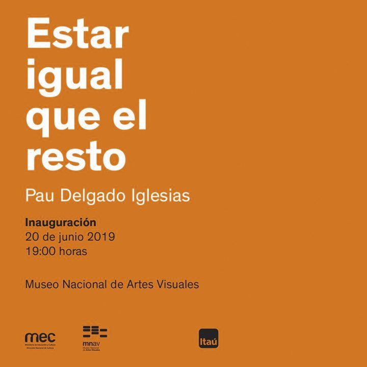 """""""Estar igual que el resto"""" de  Pau Delgado Iglesias en el MNAV"""