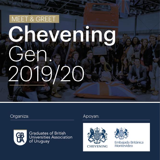 Meet & Greet con los seleccionados del programa Chevening  2019/20